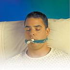 Endotracheal Tube Holder, Wrap Strap, Fully Adjustable, Child to Adult, Xtra Cushion, Velcro Hook