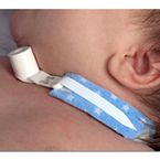 Tracheostomy Tube Holder, PediPrints®, Infant, Fits up to 9 Inch neck