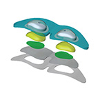 Patient Eye Protector, Laser, Opti-Guard, Disposable, Non-Sterile, Latex Free