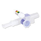 Drug Delivery System, Aerosol, Circulaire II Hybrid, VixOne, Filter, Mouthpiece, PEP Manometer