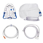 Procedural Oxygen Mask, 2 Oxygen Adapters (medium and high), 7ft Oxygen Supply Line, Microstream Compatible, 10ft Sample Line, Adult