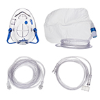 ETCO2 mask, POM, 7ft Oxygen Supply Line, Medium Concentration Oxygen Adapter, Luer Lock Cap