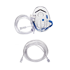 Procedural Oxygen Mask, Medium Concentration O2 Adapter, 7Ft O2 Line, CO2 Monitoring (Male to Female), 10ft Sample Line