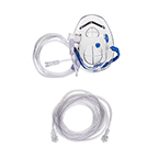 Procedural Oxygen Mask, Medium Concentration O2 Adapter, 7ft O2 Line, CO2 Monitoring (Male to Male), 10ft Sample Line, Adult