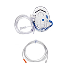 Procedural Oxygen Mask, Medium Concentration O2 Adapter, 7ft O2 Line, CO2 Monitoring (Microstream Compatible), 10ft Sample Line, Adult