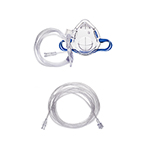 Procedural Oxygen Mask,  Medium Concentration Oxygen Adapter, 7ft Oxygen Supply Line, CO2 Monitoring (Male to Female), 10ft Sample Line, Pediatric