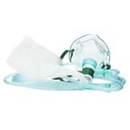 Oxygen Mask, Infant, High Concentration Non-Rebreather, without Vent, Reservoir Bag, 7ft of Supply Tubing