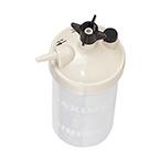 Humidifier, Dry, 350cc, High-Flow, Bubble, 6-15 LPM