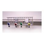 Set, 2 Basket, Eastern Rail, Organizer Basket, 4 Pre-Mounted Clips, Drywall Mounting, Rail Mounting