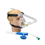 CPAP System, O2-RESQ, Adult Large, Mask, Elbow, Clip, Strap, Generator, 72-in Circuit, 5.0 cm Valve