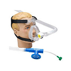 CPAP System, O2-RESQ, Adult Large, Mask, Elbow, Clip, Strap, Generator, 72-in Circuit, 7.5 cm Valve