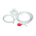 Bilevel Conversion Kit, O2-RESQ, Port, 84-in Pressure Line, Filter, Hose Clips, 24-in Tubing, Tee