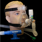 CPAP System, O2-RESQ, Adult Large, Mask, Elbow, Clip, Strap, Generator, Circuit, 3 Valves, Adapter