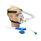 Circuit, O2-RESQ, Adult Large, Mask, Full Face, Elbow, Clip, 72-in Corrugated, 5.0 cm Valve, Filter
