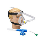 Circuit, O2-RESQ, Adult Medium, Mask, Full Face, Elbow, Clip, 72-in Corrugated, 5.0 cm Valve, Filter