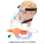 O2-MAX System, BiTrac ED Adult MD Full Face Mask, 72in Smooth Circuit, Valve T, Filter, 3-SET Valve