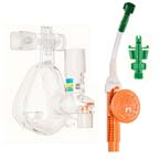 O2-MAX System, BiTrac ED Adult LG Full Face Mask, Expandable Circuit, Flow Generator