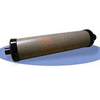 Calibration Syringe, Aluminum Cylinder, Anodized Inner Walls, Teflon Seal, 3 Liter