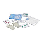 Emergency Obstetrical Kit, Standard, Sterile, Disposable, Scalpel, Gloves, Bulb Syringe