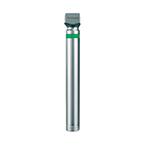 Laryngoscope Handle, Green System, Penlight Size, Fiber Optic, Bi-Polar, Satin Finish