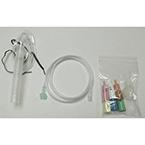 Venturi Oxygen Mask Kit, Adult, Elongated, Diluters, O2 and Aerosol Tubing, Aerosol Hood, Fits-All