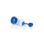 MDI Aerosol Spacer, Pocket Chamber, Uses 1-Way Valve Between Patient Mouthpiece and Chamber Body