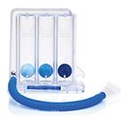 Incentive Spirometer, Triflo II, Inspiratory Exerciser, Compact, 3 Balls, 3 Chambers