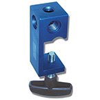 Arm Bracket, Flexible Support, Three Hole Pole, Reusable, Mounts to Poles up to 1.5 in, Aluminum