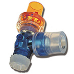 Magnetic PEEP Valve, Reusable, Transparent, 22 mm OD x 22 mm ID, Silicone Rubber Connector