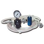 Jet Ventilator, Manual, Regulator, Gauge, On-Off Valve, Reusable 12-ft Tubing, Disposable 4-ft Tubing