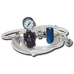 Jet Ventilator, Manual, Regulator, Gauge, On-Off Valve, Reusable 6-ft Tubing, Disposable 4-ft Tubing