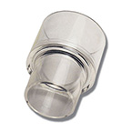 Adapter, Reducing, Reusable, Polycarbonate, 30 mm I.D., 22 mm I.D.