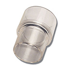 Adapter, Reducing, Reusable, Polycarbonate, 30 mm O.D., 22 mm I.D.