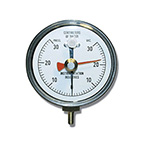 NIF Meter, 30 cm H2O, 1 cm Markings, Reusable, 1/8-in Tubing Connection, Adapter, Resettable Pointer