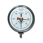 NIF Meter, 60 cm H2O, 2 cm Markings, Reusable, 1/8-in Tubing Connection, Adapter, Resettable Pointer
