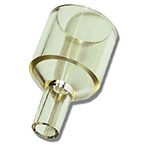Adapter, Reducing, Reusable, Polysulfone, 22 mm I.D., 10 mm O.D., Adult to Neonatal