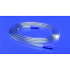 Suction Tubing, Connecting, Curity, Molded Connectors, Non-Sterile, 9/32 x 6 inches