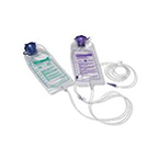 Feeding Set, Kangaroo ePump, 1000 mL, w/Flush Bag