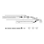 Breathing Circuit For Newport HT70, Abbreviated 22mm Ciruit, w/o Heated Limb