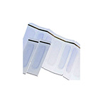 Neonatal Tape, Hydrogel, Infant, Transparent, Strips, 0.75 x 2 in