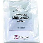 Airway, Little Anne, Complete, Non-Rebreathing, Disposable, One-Way Valve, Package of 96