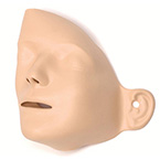 Manikin Face Skin, for Little Anne or Resusci Anne Manikins, Reusable