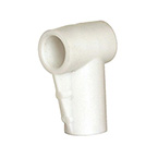 Connection Elbow, for LCSU, Canister, 90 Degree, White