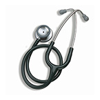 Stethoscope, Littmann Classic II SE, Soft Seal Eartips, Black, Adult