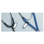 Tag, Identification, Stethoscope, H-Type, Black