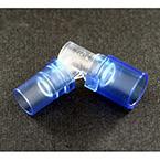 Tracheostomy Dual Swivel Elbow, 15mm ID Swivel x 15mm OD Swivel