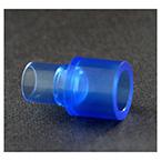 Tracheostomy Adapter, Swivel, Straight, 15M X 22F - 15M,Single Patient Use