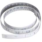 Tape Measure, Paper, Disposable, Inches and Centimeters, 72 in