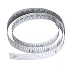 Tape Measure, Paper, Disposable, Infant, Inches and Centimeters, 36-in