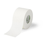 Sports Adhesive Tape, Curad, Orth-Porous, Woven Cotton Backing w/Rubber, White, 1-in x 10-yrd